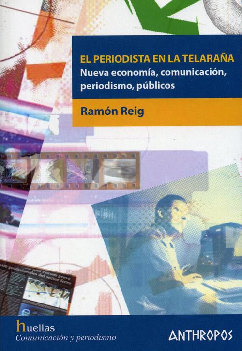 """Portada de """"El periodista en la telaraña"""", de Ramón Reig"""