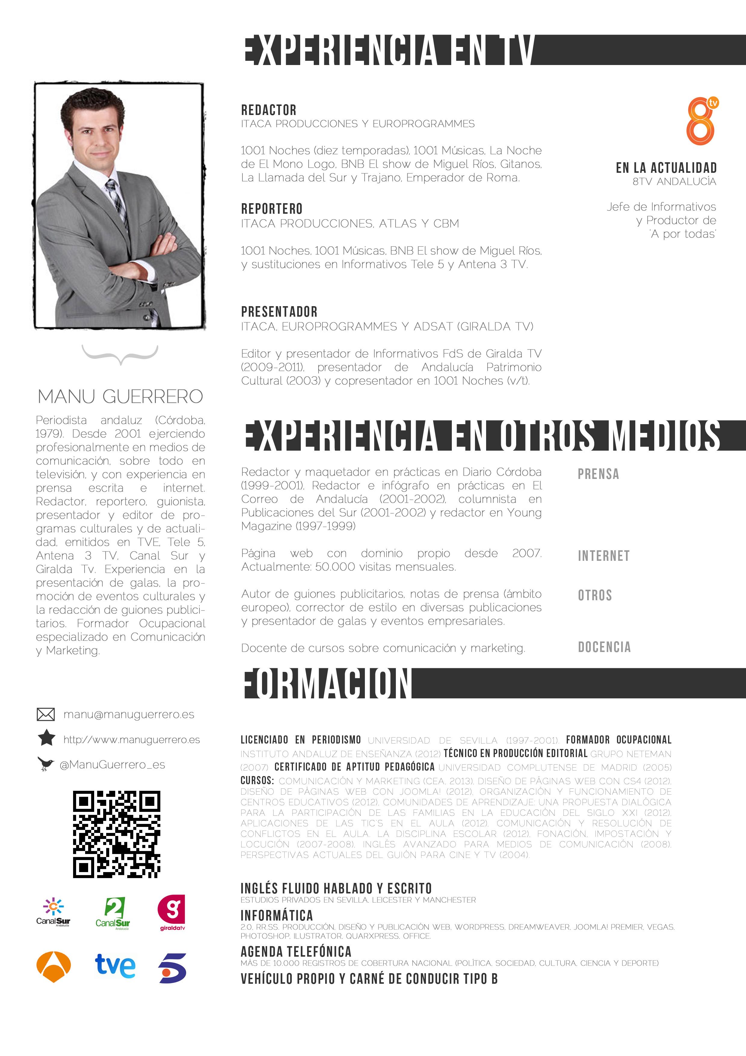 CV Manu Guerrero 2014