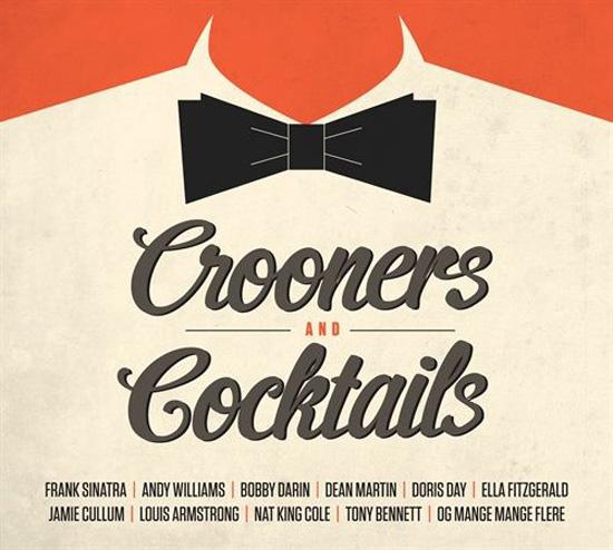 """Portada del disco """"Crooners & coctails"""""""