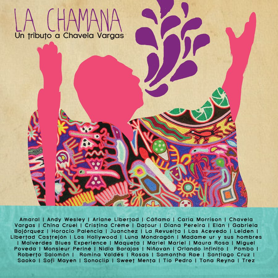 "Portada del disco ""La Chamana"", homenaje a Chavela Vargas"