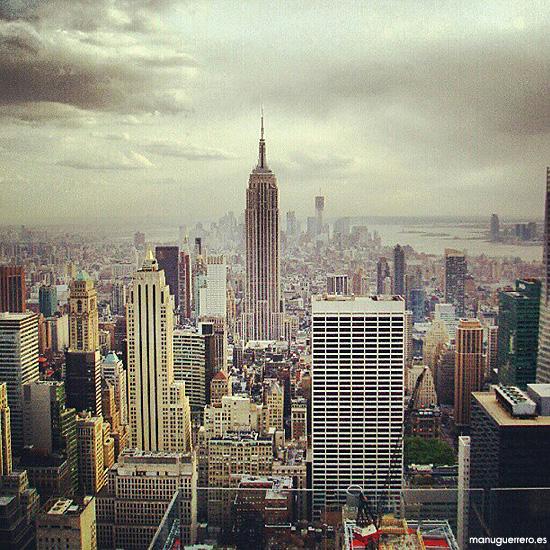 El Empire State desde el Rockefeller Center