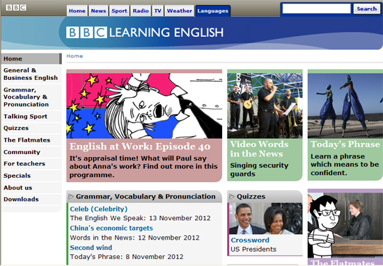 Learning English by BBC