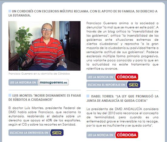 "Revista ""Morir dignamente"""